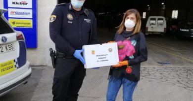 La A.E. L'Andana entrega a las empresas las mascarillas cedidas desde el Ayuntamiento de Paterna