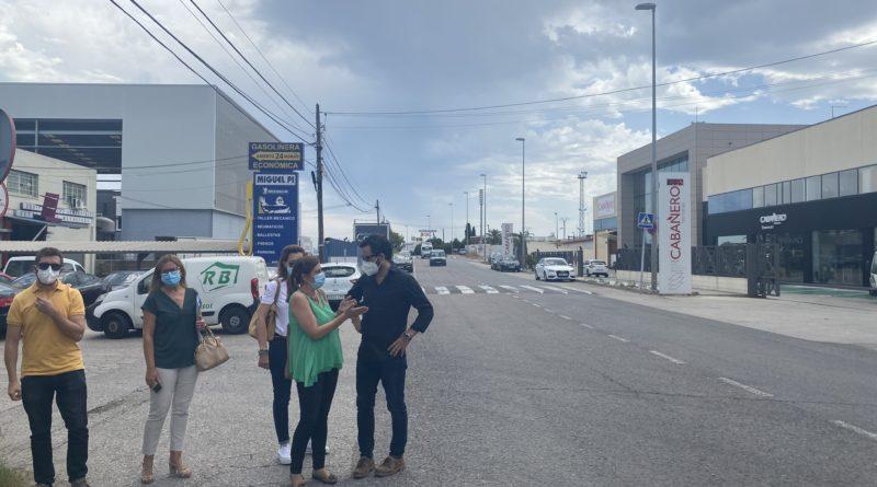 L'Andana logra, tras una larga reivindicación, el compromiso municipal de ejecutar la obra del colector de la Avenida de la Industria