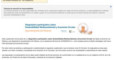 Paterna arranca el Plan Municipal de Economía Circular con un diagnóstico medioambiental de sus empresas